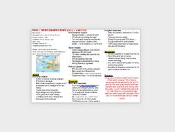 AQA A-level Geography Hazards case studies