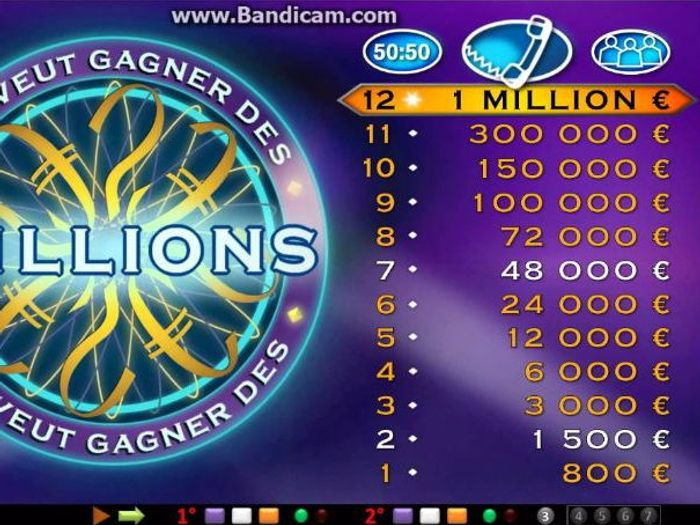 Who Wants To Be a Millionaire (France) by conortrg1 - Teaching ...