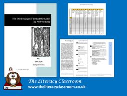The Third Voyage of Sinbad the Sailor: KS 2 SATs style comprehension (with answers)