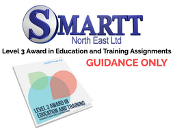 PTLLS - Level 3 Award in Education and Training Assignments