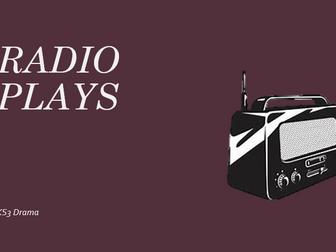 KS3 Drama Radio Plays - SOW