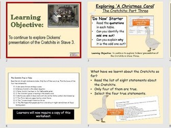 A Christmas Carol (GCSE) The Cratchits 3