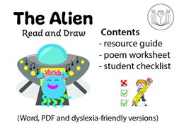 The Alien - read and draw
