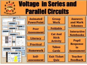 Current Electricity - Voltage in Series and Parallel Circuits KS3