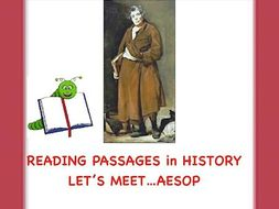 Aesop: Famous Fable Writer of Ancient Greece(Reading Activity)