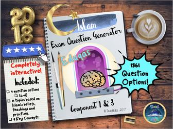 Islam  9-1 Exam Question Practice