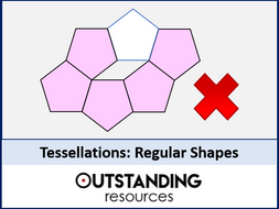 Tessellations 1 - Regular and Semi Regular Polygons (+ worksheet)