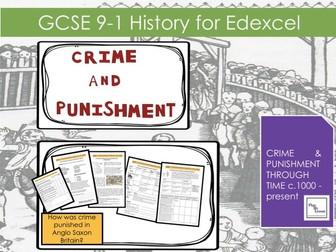 L2 Edexcel GCSE Crime & Punishment:Crimes against person property & authority in Anglo Saxon Britain