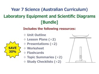 Laboratory Equipment and Scientific Diagrams [BUNDLE]