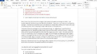 8700 AQA English Language Practice Paper 1 Animals
