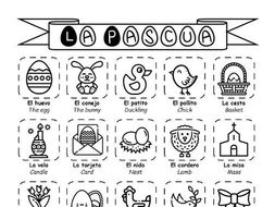Spanish KS3 - La Pascua - Easter booklet of activities
