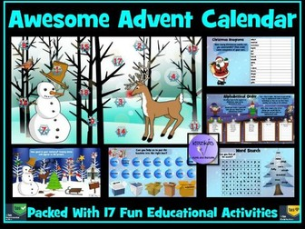 Advent Calendar: 17 Fun, Educational Activities