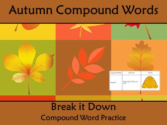 Grade 9 Reading Comprehension Worksheets Word Compound Words Worksheet Four Seasons Themed Words By Kiwilander  Design A Coat Of Arms Worksheet with Organic Molecules Worksheet Compound Words Worksheet Autumn Fall Themed Words Spelling Practice Worksheet Word