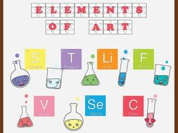 Elements of Art Bulletin Board