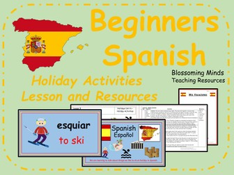 spanish unit ks2 holidays by blossomingminds teaching resources. Black Bedroom Furniture Sets. Home Design Ideas