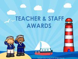 Teacher & Staff Awards