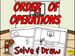 Order of Operations Solve & Draw Activity