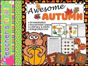 Autumn: Autumn Integrated Unit