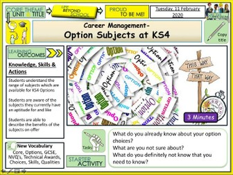 Options and Pathways - Careers Guidance