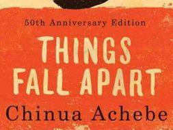 Things Fall Apart By Chinua Achebe Okonkwo The Tragic Hero By