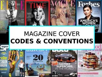 Magazine Covers - Quick Unit of Work