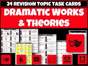Dramatic Works and Theories