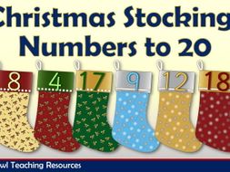 Christmas Stockings - Number to 20