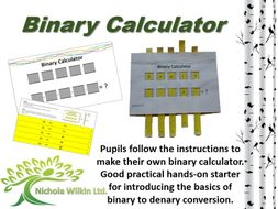 Binary Calculator - Starter Activity