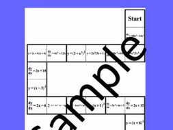 Derivatives of Powers of x – Math puzzle