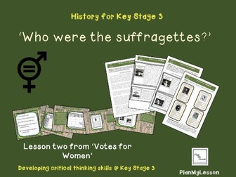 L2 Votes for Women: 'Who were the suffragettes?'
