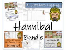 UKS2 History - Hannibal Bundle of Activities