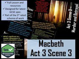 Act 3 Scene 3 Macbeth GCSE English Literature 9-1