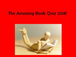 Amazing Book Quiz 2018!