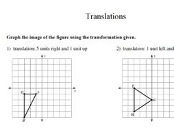 gcse maths worksheet translation by theeducationspecialist  gcse maths worksheet translation