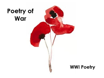Poetry of War: WWI Poetry Lessons - Updated