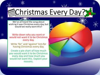Christmas Debate - Writing to Argue