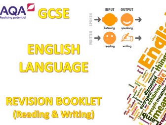AQA GCSE English Language Revision Booklet