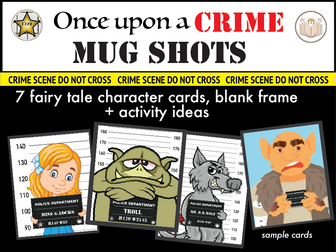 Fairy Tale Character Mug Shots