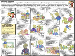 KS3 The Industrial Revolution: Children's Working Conditions Lesson 6