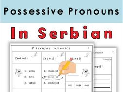 Serbian Possessive Pronouns Latin Alphabet