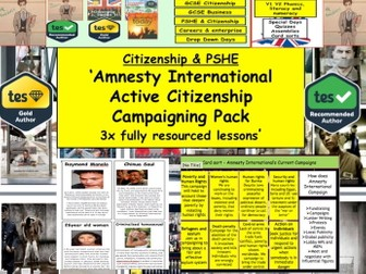 Campaigning: Pressure Groups: Amnesty International - Active Citizenship