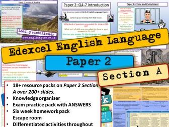 Edexcel English Language Paper 2