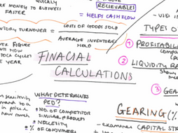 NEW AQA Business A Level - Financial Calculations