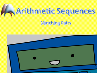 Matching Pairs - Arithmetic Sequences