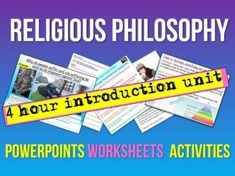 Religious Philosophy (4 lessons)