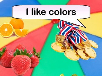 I Like Colours (Rhyming picture book & resources)