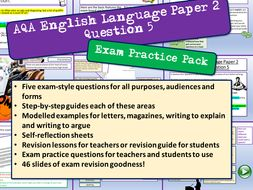 AQA English Language Exam Practice