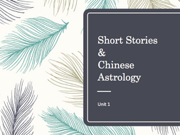 Chinese Astrology Fact-file Fun Lesson