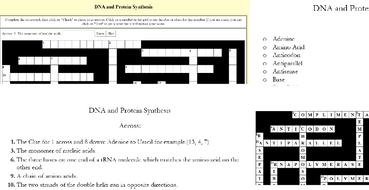 Core Biology Crosswords: