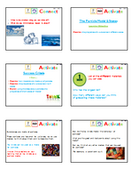 Diffusion Chemistry PowerPoint 4 part lesson structure KS3